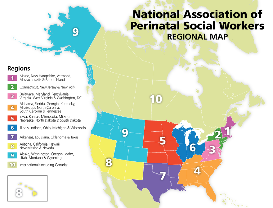 Regional Map and Liaisons on